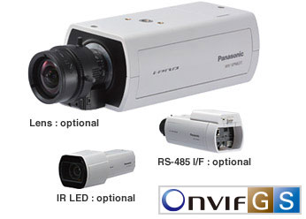 Super Dynamic HD Network Camera WV-SPN611