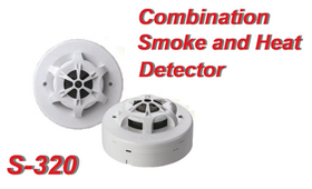 COMBINATION SMOKE AND HEAT DETECTOR