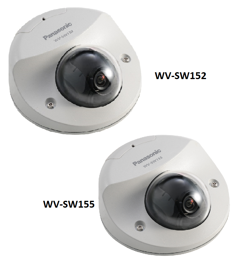 Super Dynamic HD Vandal Resistant Dome Network Camera WV-SW155 / WV-SW155M , Super Dynamic Vandal Resistant Dome Network Camera WV-SW152 / WV-SW152M