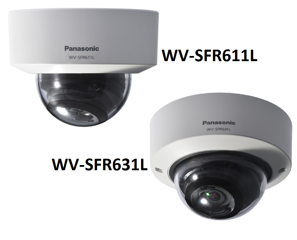 Super Dynamic Full HD Vandal Resistant Dome Network Camera WV-SFR631L,Super Dynamic HD Vandal Resistant Dome Network Camera WV-SFR611L
