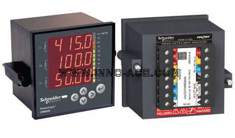 Power Meter Schneider DM6000 series digital panel meter
