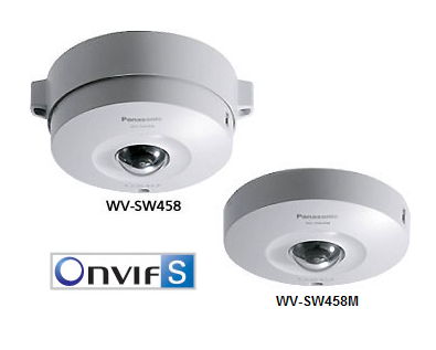 360-degree Super Dynamic Vandal Resistant Dome Network Camera WV-SW458 , WV-SW458M